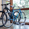 2 bike indoor storage stand