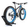 fat bike tire freestanding storage rack