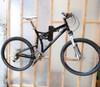 steel bike wall rack