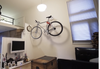 adjustable home storage bike rack