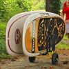 double paddleboard cart