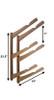 Snowboard Storage Rack   Wood Wall Rack