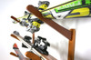 horizontal ski storage