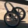surf trailer carrier wheels