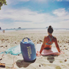 beach cooler and dry bag portable