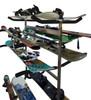 rolling ski and snowboard storage