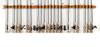 Expandable Fishing Rod Rack | Fits 8+ Rods