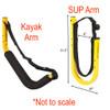 Customizable SUP and Kayak Freestanding Rack | Outdoor Storage for 6 Kayaks & SUPs