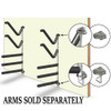 wall mounted stainless steel sup and kayak rack