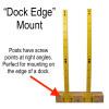 dock mounted sup rack