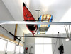 garage ceiling storage for paddleboards and kayaks