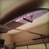 single paddleboard garage ceiling storage rack