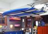 best garage paddleboard storage system