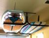 overhead garage SUP rack