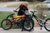 outdoor bike rack for kids