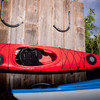 outdoor kayak storage rack