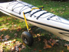 kayak carrier that doesn't require using tie down straps
