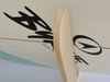 Premium Birch Surfboard Wall Rack