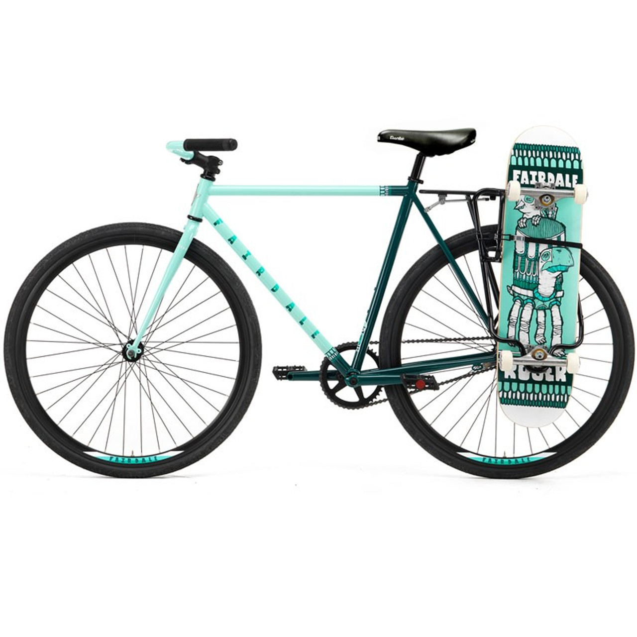 skateboard bike rack