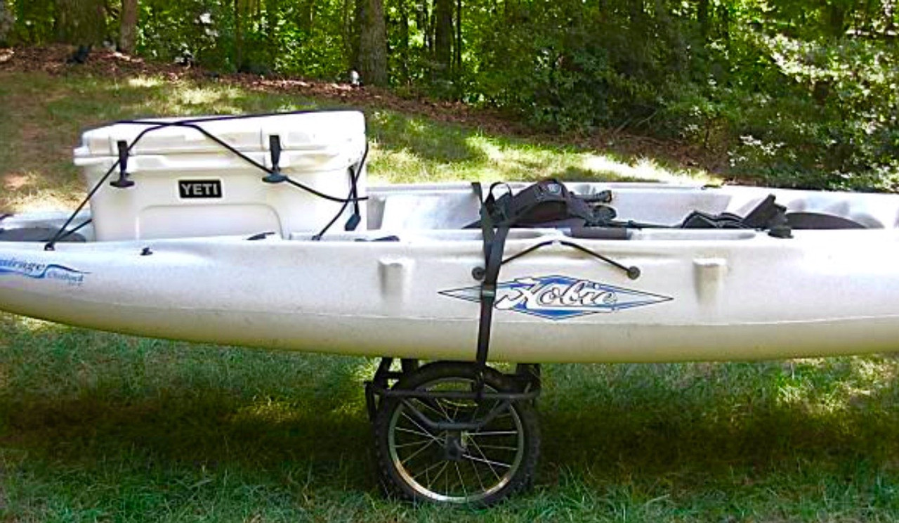 fishing kayak hand cart
