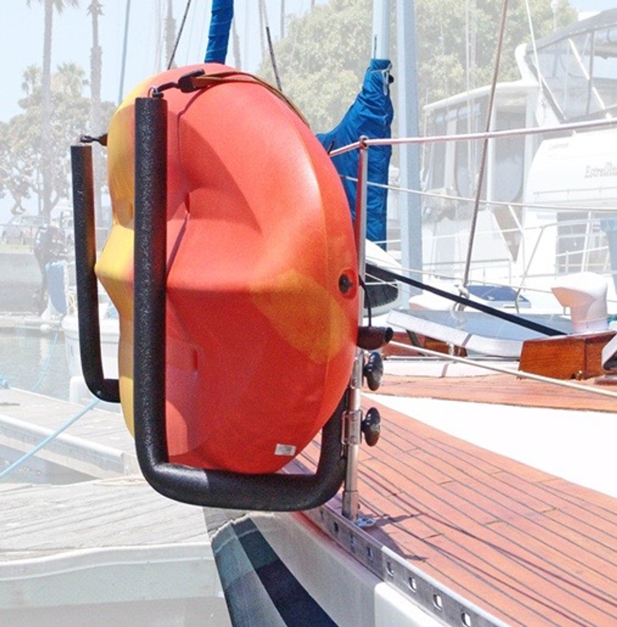 rail mounted kayak boat rack