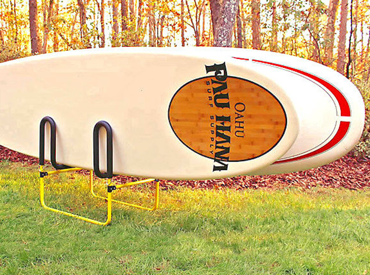 2 paddleboard indoor and outdoor rack