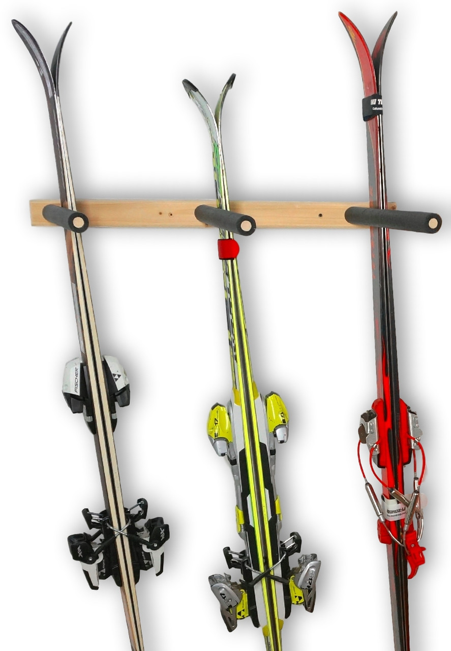 vertical ski storage