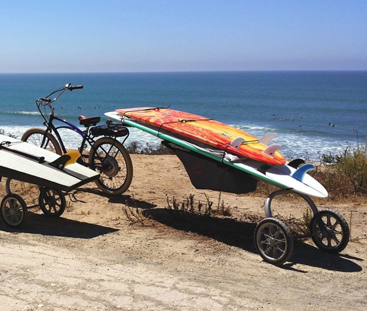 surf bike trailer