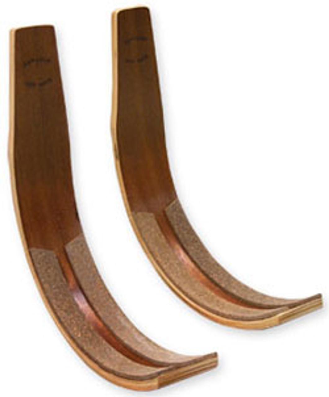wakeboard display rack dark wood