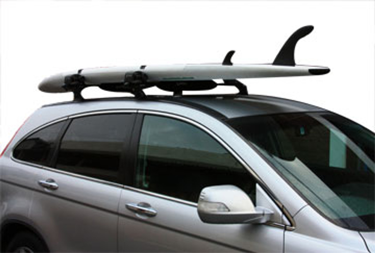 surfboard roof rack with locks
