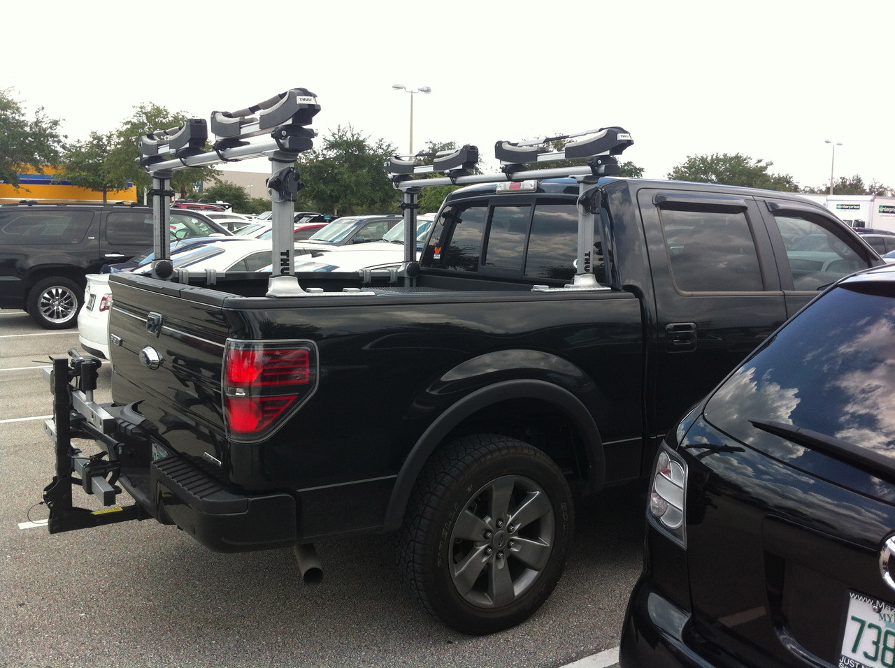 Surf Rack For Car >> Surf, SUP, and Kayak Rack | Thule Xsporter Pro ...
