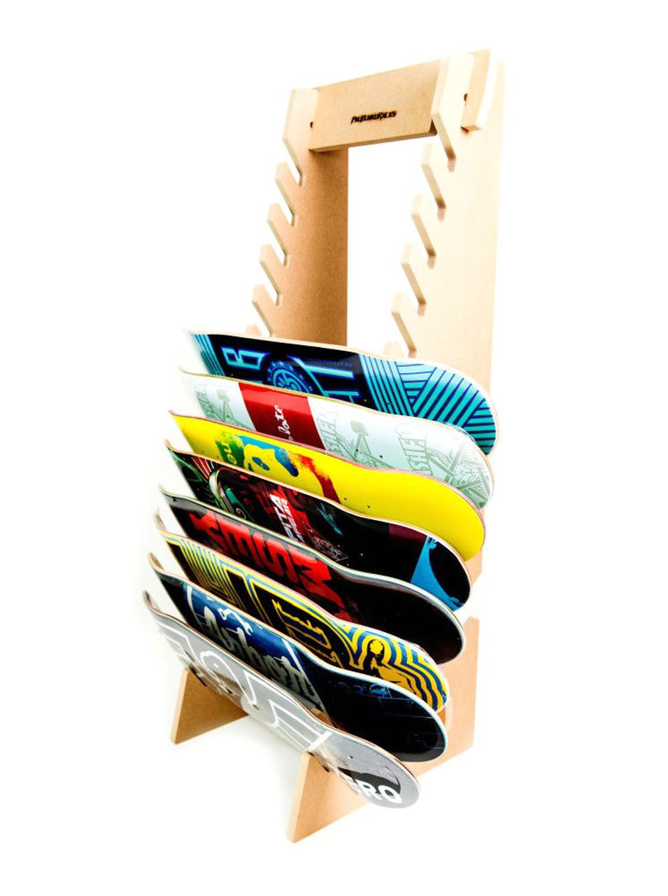 Retail Skateboard Rack Skate Shop Floor Rack