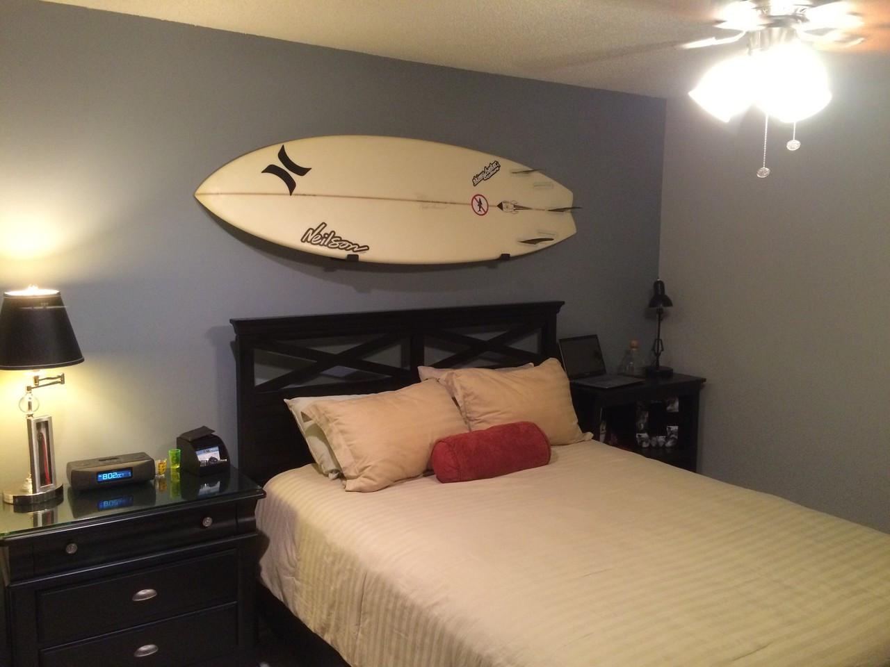 Naked surf minimalist surfboard rack storeyourboard bedroom surfboard rack amipublicfo Images