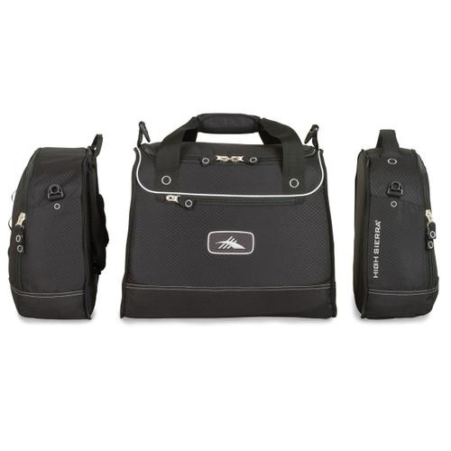 4-in-1 cargo duffel for ski gear