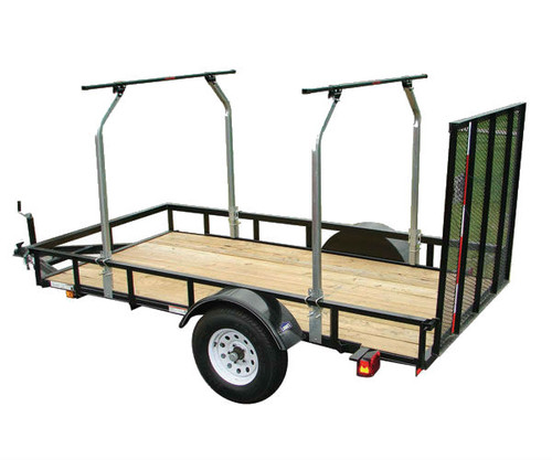 utility trailer cross bar system
