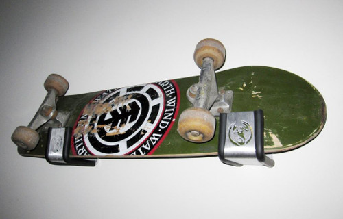 skateboard display logo rack