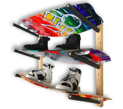 wakeboard home storage rack