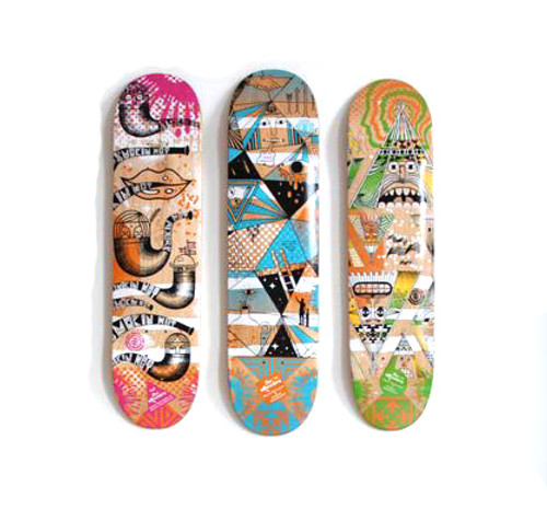 Skate Deck Display | Wooden - StoreYourBoard