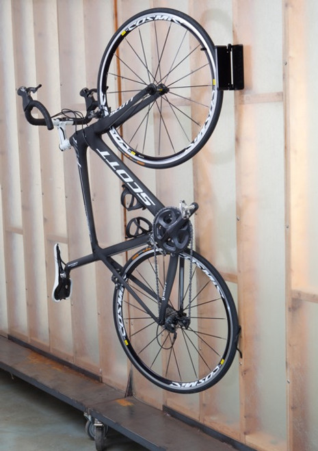 swivel bike wall rack