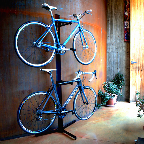 double home bike storage rack