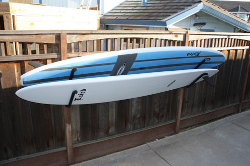 double on-rail surfboard rack | gatekeepers
