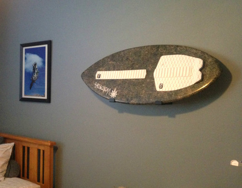 wall skimboard storage