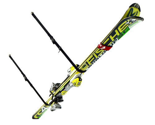 overhead storage for skis