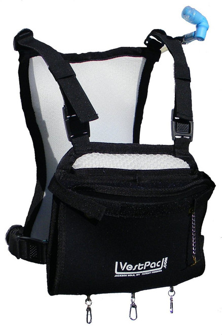black sup fishing hydration pack