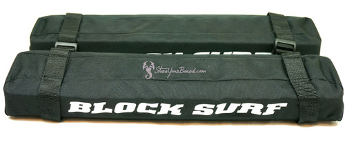 blocksurf roof rack pads with tie down strap