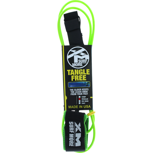 XM Tangle-Free Surf Leash | 6' to 12'