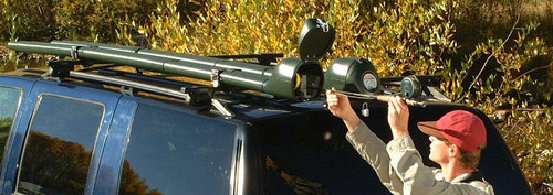 Fly Rod Double Haul | Locking Roof Rack Case