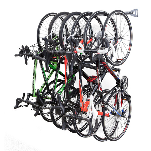 Bike Storage Rack | 6 Hanging Bikes
