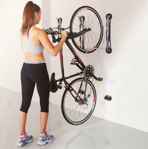 home bike wall storage rack