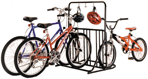family bike stand 6 bike rack